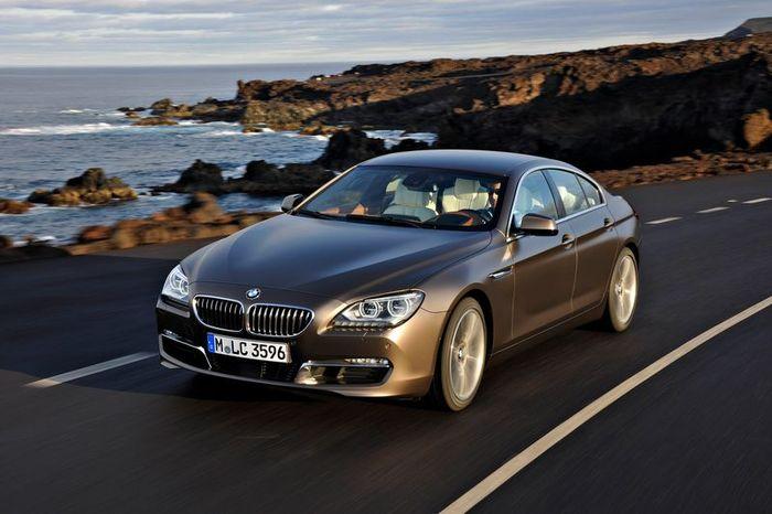 Четырехдверное купе BMW 6-Series Gran Coupe (147 фото)