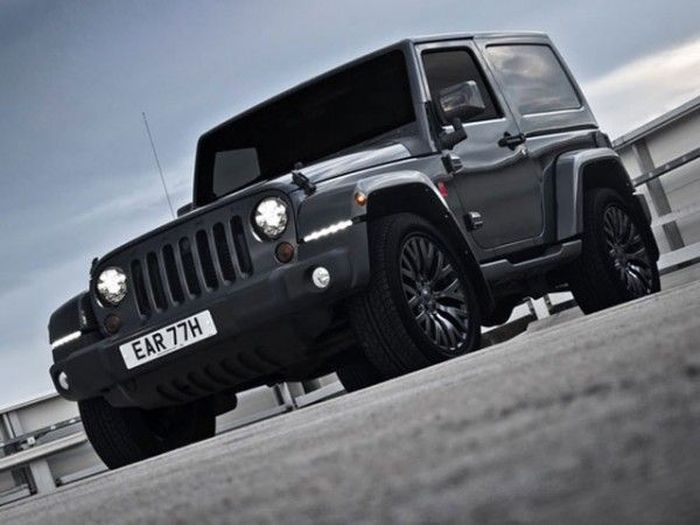 Jeep Wrangler Military Edition от ателье Project Kahn (5 фото)