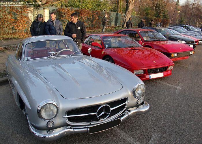 Парижская тусовка Cars & Coffee (36 фото+видео)