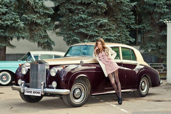 Ретро-классика Rolls Royce Silver Cloud I (20 фото)