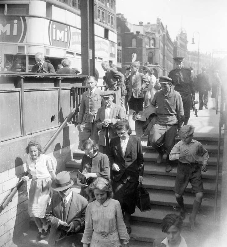 1143 Повседневная жизнь Берлина в июле 1945 года