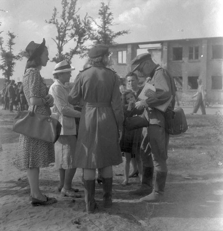 1331 Повседневная жизнь Берлина в июле 1945 года