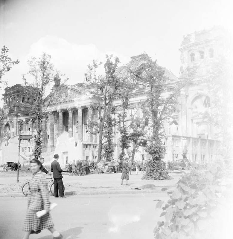 1430 Повседневная жизнь Берлина в июле 1945 года