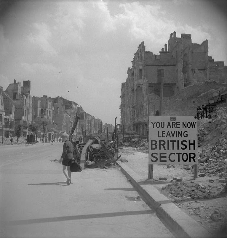 1529 Повседневная жизнь Берлина в июле 1945 года