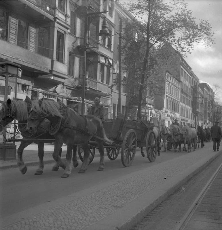 1626 Повседневная жизнь Берлина в июле 1945 года