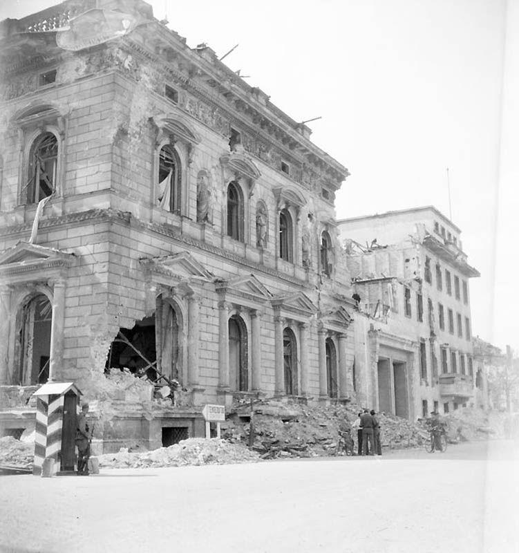1726 Повседневная жизнь Берлина в июле 1945 года