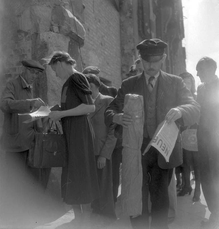 1923 Повседневная жизнь Берлина в июле 1945 года