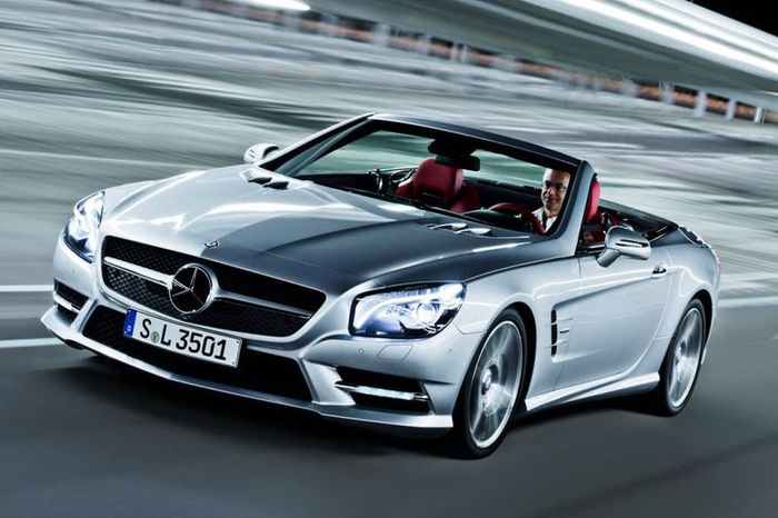Первые фотографии нового Mercedes-Benz SL (41 фото)
