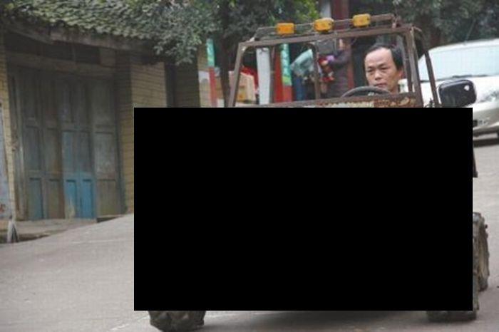 Настоящий - китайский Hammer или Jeep... (2 фото)
