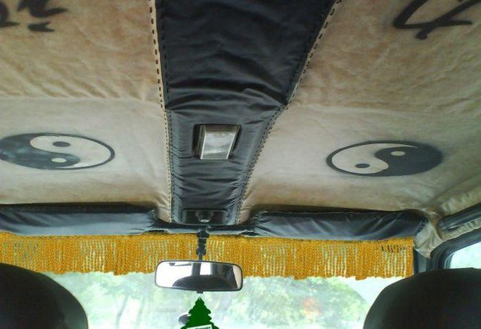 Автомобильный шторки (9 фото)