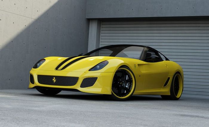 Ferrari 599 GTO подверглась тюнингу от ателье Wheelsandmore (6 фото)