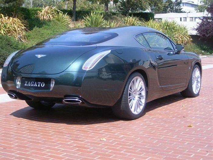 Эксклюзивный Bentley Continental GT от ателье Zagato продадут за 1,5 млн.$ (24 фото)
