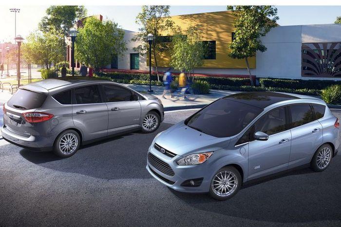 Компания Ford показала своего конкурента Приусу на базе C-Max (26 фото)