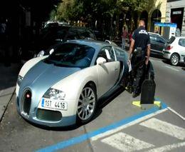 Полиция ставит башмак на Bugatti Veyron 16.4