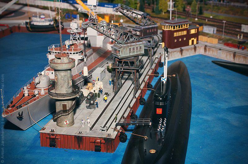 Огромный макет России (52 фото)