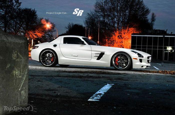 Mercedes-Benz SLS AMG от американского ателье SR Auto Group (7 фото)