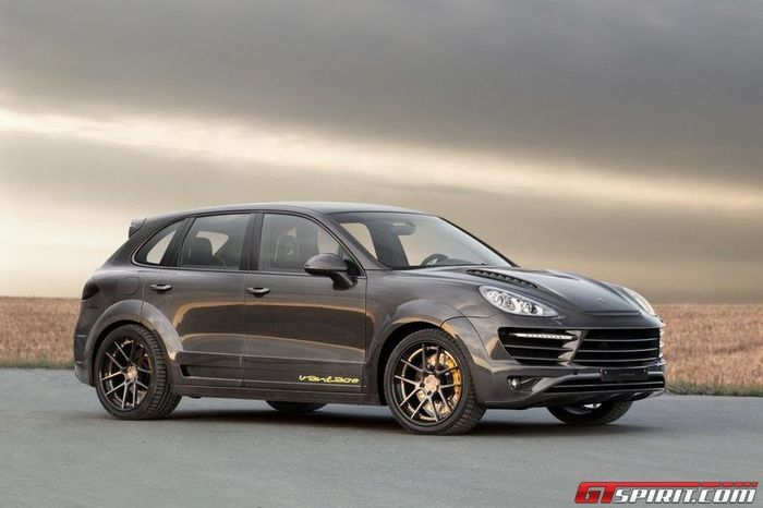Porsche Cayenne Vantage 2 Carbon Edition от ателье Topcar (24 фото)