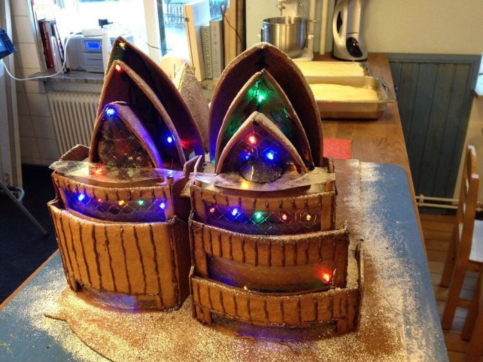 Оперный театр в Австралии из хлеба (9 фото)