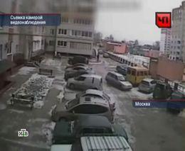 Девушка устроила 4 аварии за полторы минуты