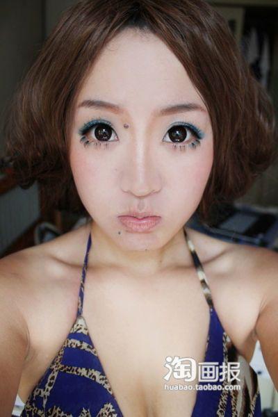 Чудеса китайского макияжа (31 фото)