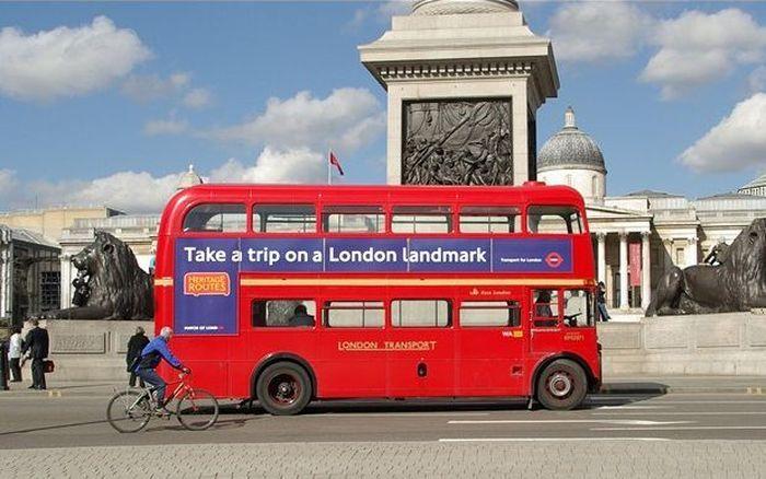История двухэтажного лондонского автобуса (17 фото)