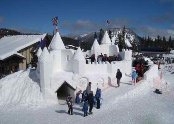 Снежные баррикады (45 фото)