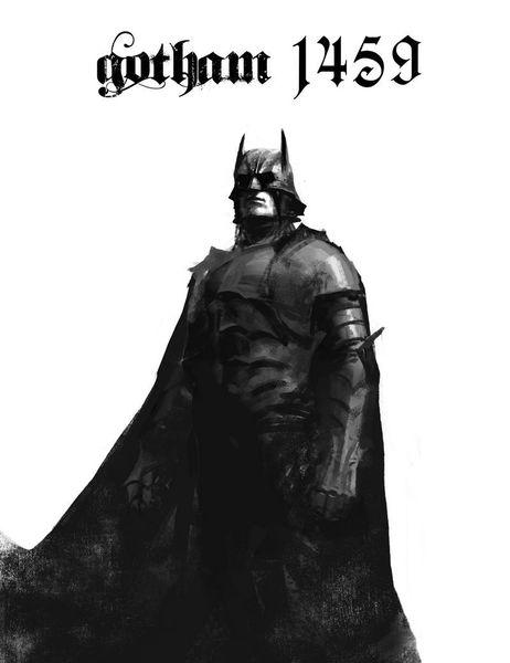 Если бы Бэтмен жил в XV веке (4 фото)