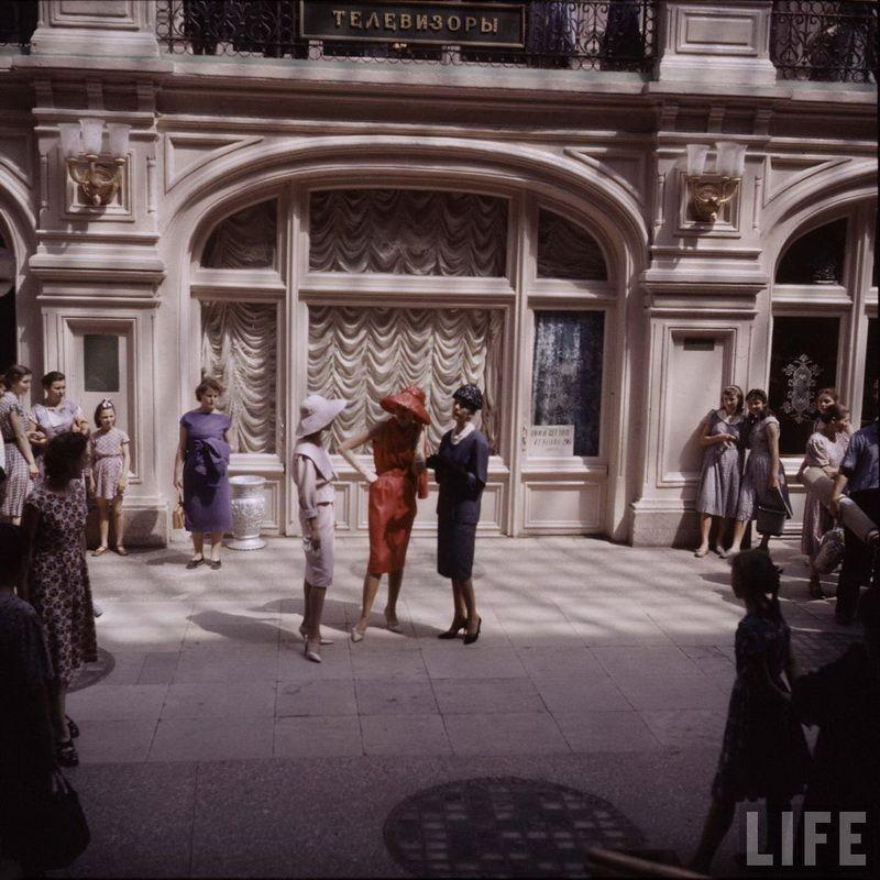 2a466b0e27a0 Christian Dior в Москве. 1959 год. (30 фото)