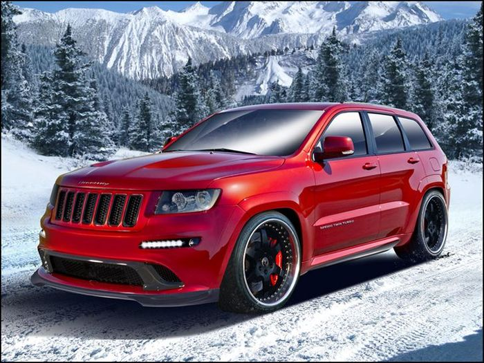Jeep Grand Cherokee SRT8 от Hennessey Performance Engineering (фото+текст)