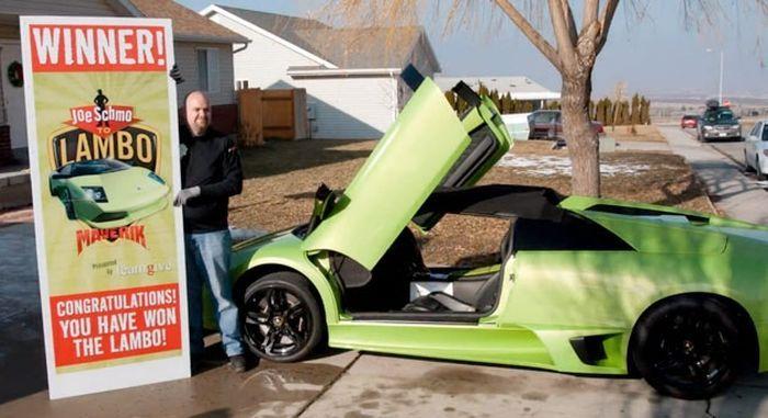 Выигранный Lamborghini Murcielago победитель разбил через 6 часов (5 фото+видео)