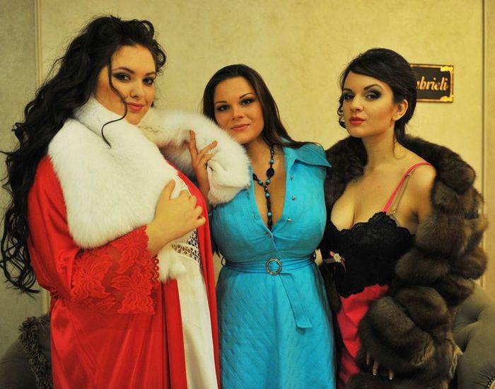Конкурс красоты пышных женщин (29 фото)