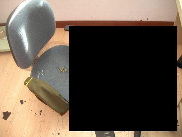 Китайское кресло-убийца (5 фото)