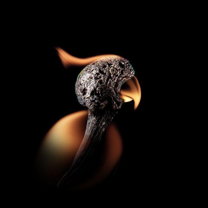 Потрясающие картины из горящих спичек (24 фото)