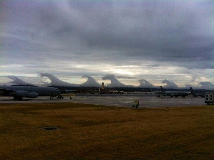 Странные облака (5 фото)