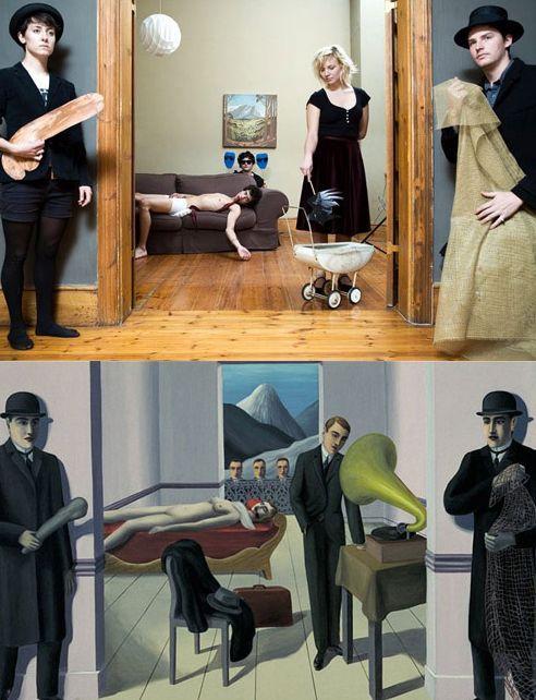 Произведения искусства на современный лад (16 фото)
