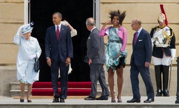 Подборка курьёзных фотографий политической жизни в 2011 году (18 фото)