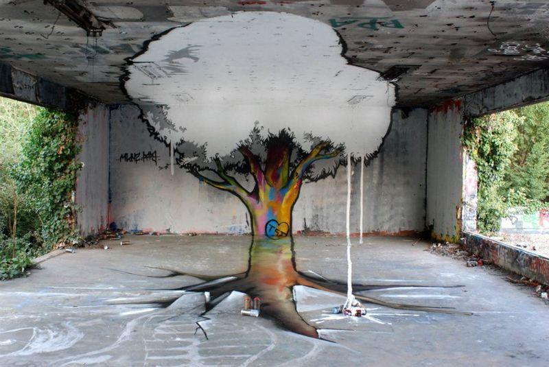 50 лучших работ в жанре стрит-арта 2011 (50 фото)