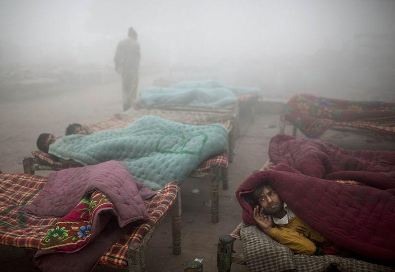 india cold weather 07 Индия замерзает