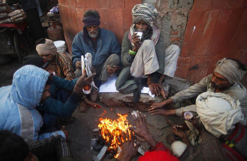 india cold weather 08 Индия замерзает