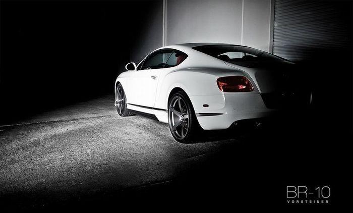 Ателье Vorsteiner поработало над Bentley Continental GT BR-10 (4 фото)