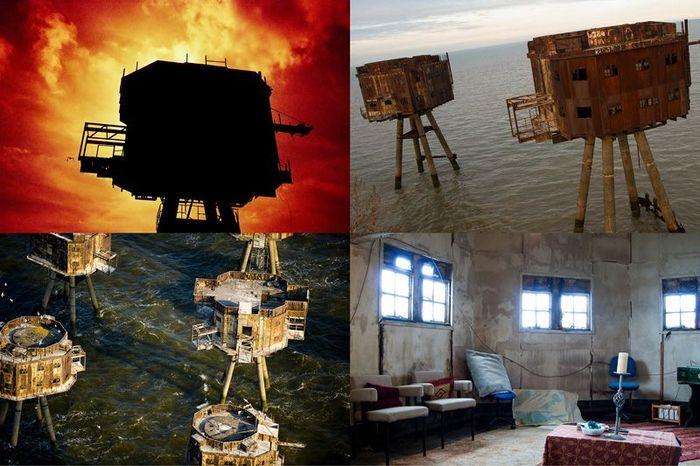 Британские морские форты (26 фото)