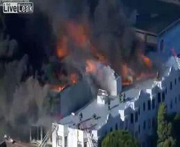 Пожар в Сан-Франциско