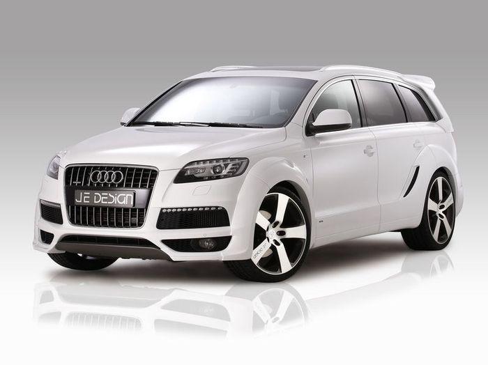 Audi Q7 S-Line от ателье JE Design (10 фото)