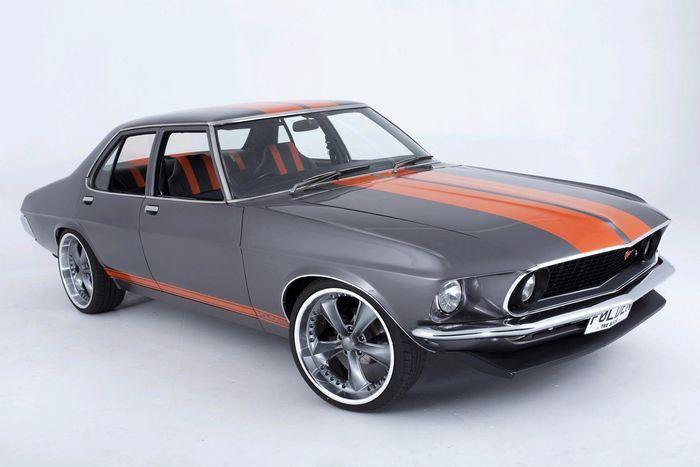 Ford Mustang+Holden HQ=Folden невероятный гибрид (24 фото+3 видео)