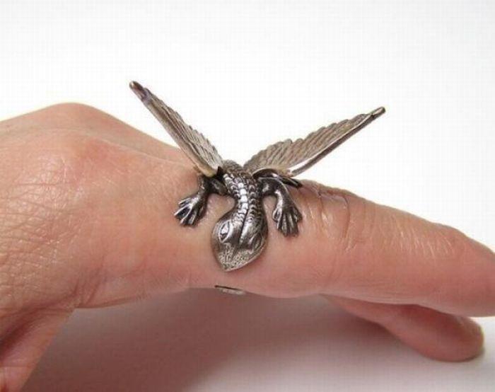 Необычные обручальные кольца (55 фото)