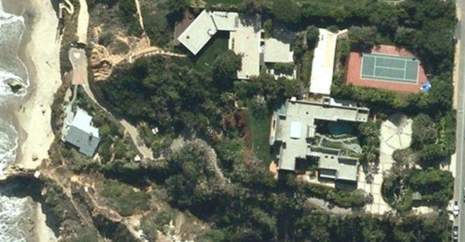 Бывший дом Бреда Питта в Малибу (7 фото)