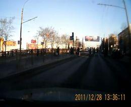 Охреневшие пешеходы
