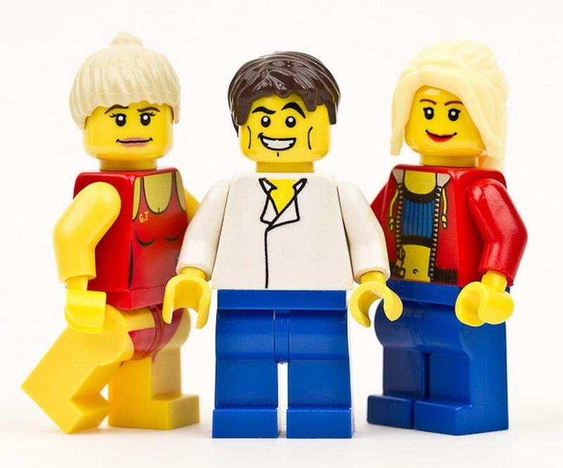 События 2011 года в Lego-интерпретации (15 фото)