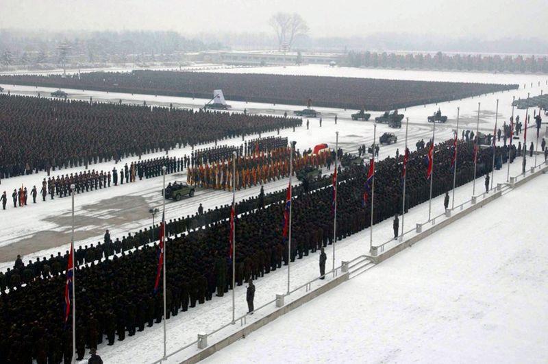 2668 990x658 Северная Корея простилась с Ким Чен Иром
