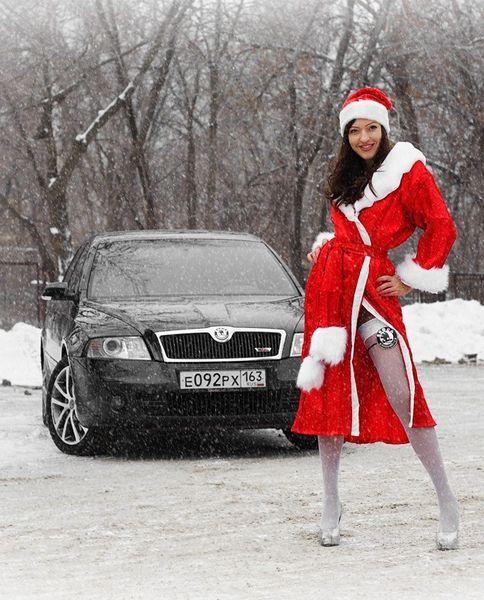 Российские красавицы и автомобили. Часть 2 (56 фото)
